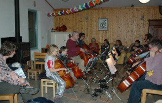 Cellofeest in Afferden