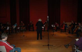 Interferenza met basklarinetten-ensemble in Roosendaal